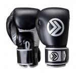 ONWARD SABRE Boxing Gloves - BLACK/SILVER ONWARD SABRE Boxing Gloves - BLACK/SILVER