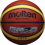 Molten GR Rubber Basketball - Orange/Cream Molten GR Rubber Basketball - Orange/Cream