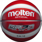 Molten GR Rubber Basketball Red/White Molten GR Rubber Basketball Red/White