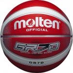 Molten GR Rubber Basketball Red/White Molten GR Rubber Basketball Red/White
