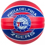 Spalding NBA Philadelphia 76ers Team Series Basketball Spalding NBA Philadelphia 76ers Team Series Basketball