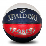 Spalding TF-Grind Indoor/Outdoor Basketball - RED/WHITE/BLUE SPALDING TF-GRIND IN/OUT RWB 6