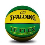 Spalding TF-FLEX Training Basketball - GREEN/GOLD Spalding TF-FLEX Training Basketball - GREEN/GOLD