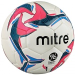 Mitre Pro Futsal Ball - White/Red Mitre Pro Futsal Ball - White/Red