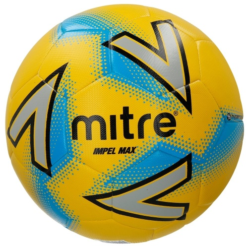 Mitre Impel Max Hyperseam Soccer Ball - YELLOW