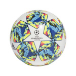 Adidas UCL Finale 19 Capitano Ball - White/Bright Cyan/Solar Yellow Adidas UCL Finale 19 Capitano Ball - White/Bright Cyan/Solar Yellow