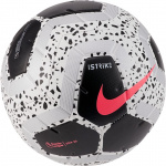 Nike Premier League Strike Soccer Ball - WHITE/BLACK/BLACK/RACER PINK Nike Premier League Strike Soccer Ball - WHITE/BLACK/BLACK/RACER PINK