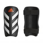 Adidas Everlite Shinguards - Black/White/Solar Red Adidas Everlite Shinguards - Black/White/Solar Red