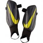 Nike Charge Shinguards - ANTHRACITE/BLACK/OPTI YELLOW Nike Charge Shinguards - ANTHRACITE/BLACK/OPTI YELLOW