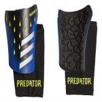 Adidas Predator League Freak Shinguards - Black/Blue/Solar yellow Adidas Predator League Freak Shinguards - Black/Blue/Solar yellow