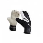 Mitre Typhoon Goal Keeping Gloves - Black/White Mitre Typhoon Goal Keeping Gloves - Black/White