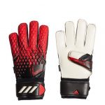 Adidas Predator 20 MTC Fingersave Goalkeeper Gloves - Black/Active Red Adidas Predator 20 MTC Fingersave Goalkeeper Gloves - Black/Active Red