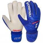 REUSCH ATTRAKT Solid Goalkeeping Gloves - Deep Blue REUSCH ATTRAKT Solid Goalkeeping Gloves - Deep Blue