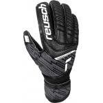 REUSCH Attrakt Solid Finger Save Junior Goalkeeping Gloves - Black REUSCH Attrakt Solid Finger Save Junior Goalkeeping Gloves - Black