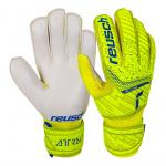 REUSCH Attrakt Solid Junior Goalkeeping Gloves - Safety Yellow REUSCH Attrakt Solid Junior Goalkeeping Gloves - Safety Yellow