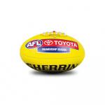 Sherrin PVC AFL Mini Replica Game Ball - 20cm Sherrin PVC AFL Mini Replica Game Ball - 20cm