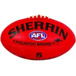 Sherrin Synthetic Football - Red Sherrin Synthetic Football - Red