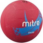 Mitre Oasis Netball - Pink/Cyan Mitre Oasis Netball - Pink/Cyan