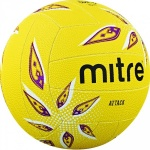 Mitre Attack Netball - YELLOW Mitre Attack Netball - YELLOW