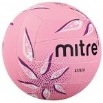 Mitre Attack Netball - PINK/PURPLE Mitre Attack Netball - PINK/PURPLE