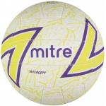 Mitre Intercept Netball - WHITE/GREEN/PURPLE Mitre Intercept Netball - WHITE/GREEN/PURPLE