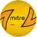 Mitre Attack F18 Netball - Yellow Mitre Attack F18 Netball - Yellow