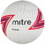 Mitre Ultragrip Netball - WHITE/RED/BLACK Mitre Ultragrip Netball - WHITE/RED/BLACK