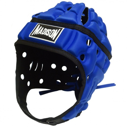 Madison Air Flo Headguard - Neon Blue